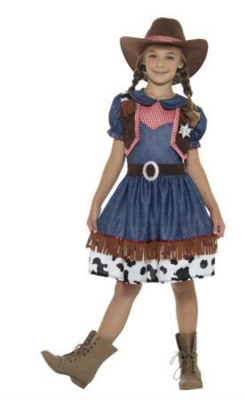 cowgirl børnekostume 278x450 - Cowboy kostume til børn