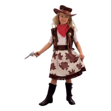 cowgirl pige kostume cowboy kostume til piger cowboy kjole udklædning