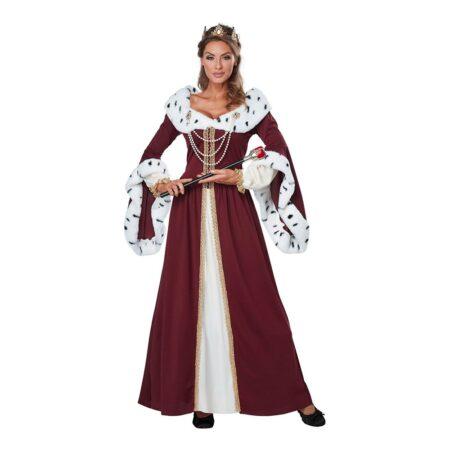 dronning voksenkostume 450x450 - Dronning kostume til voksne