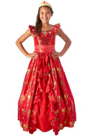 elena fra avalor børnekostume prinsesse elena kjole fastelavnskostume