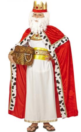 hellig konge royal konge kostume til børn