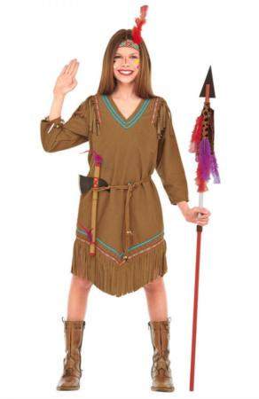 indianer børnekostume 292x450 - Indianer kostume til børn