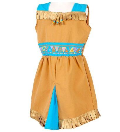 indianer kjole til børn 409x450 - Indianer kostume til børn