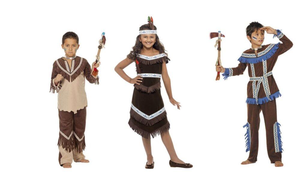 indianer kostume til børn indianer børnekostume fastelavnskostume til børn