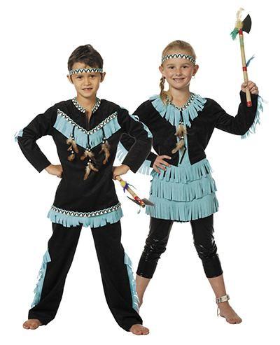 indianer kostume til børn indianer høvding kostume børnekostume høvdingepige kostume udklædning fastelavnskostume