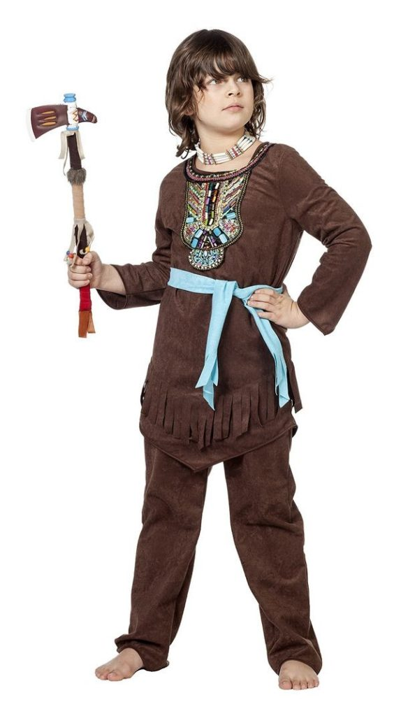indianer kostume til børn indianer kostume til drenge indianerhøvding kostume drenge indianer børnekostume fastelavnskostume indianerkostume til drenge