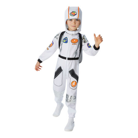 iss-astronaut udklædning til børn fastelavnskostume til drenge måne kostume nasa børneuniform