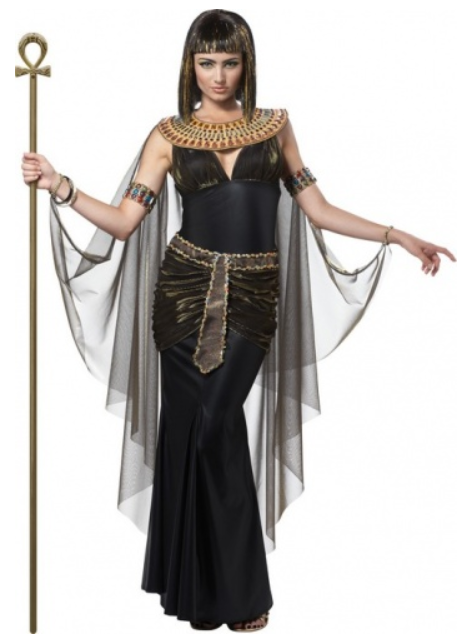 kleopatra kostume til kvinder sort kleopatra kjole udklædning egyptisk kostume mellemøstlig kostume