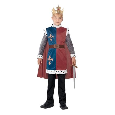 kong arthur børnekostume 450x450 - Konge kostume til børn