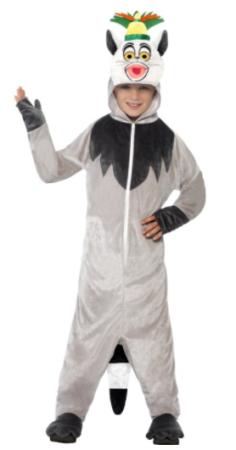 kong julian kostume til børn madagascar kostume til børn