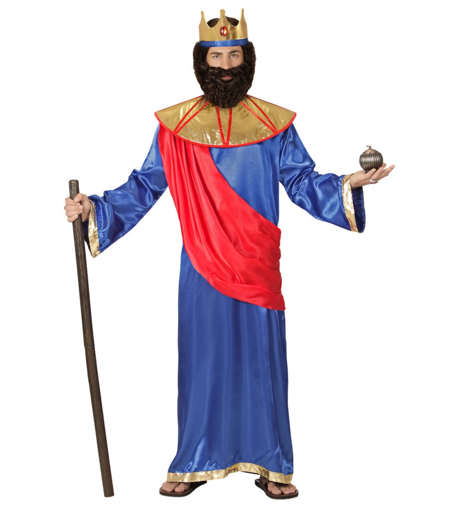 konge kostume til voksne religiøs konge de vise mænd kostume kongekostume til karneval konge udklædning kostume til sidste skoledag