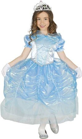 luksus askepot kostume til barn lyseblå prinsesse kjole luksus askepot kostume til piger