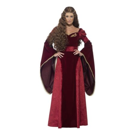middelalder dronning kostume 450x450 - Dronning kostume til voksne