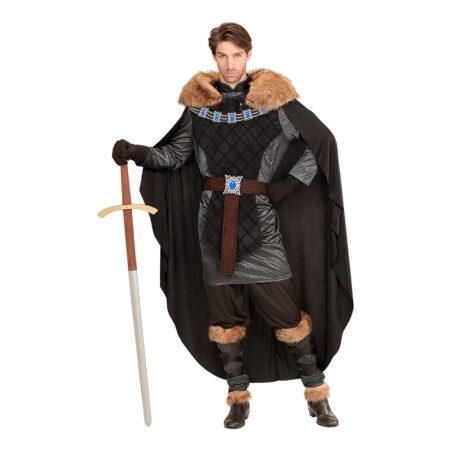 middelalderprins udklædning viking konge kostume game of thrones kostume til voksne