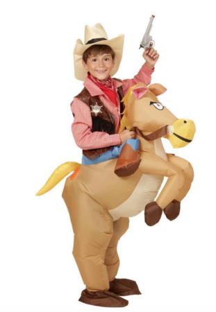 oppustelig cowboy kostume til børn 311x450 - Cowboy kostume til børn