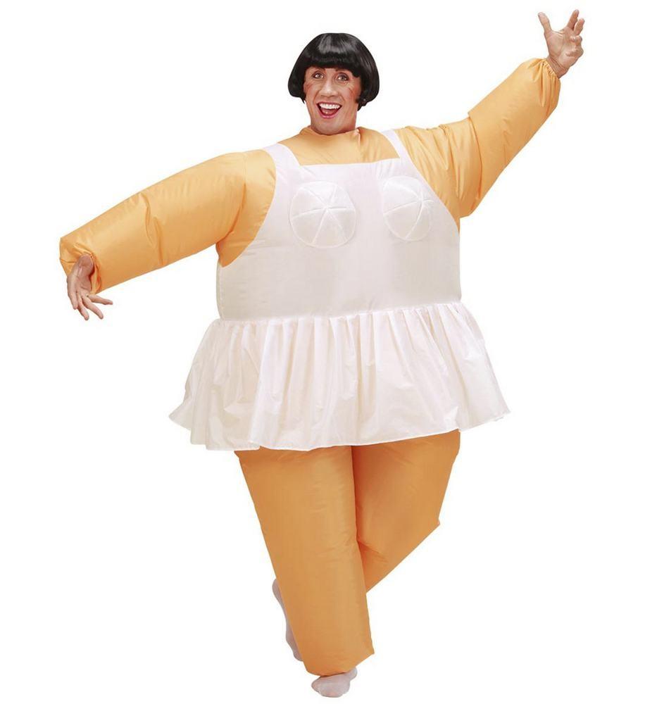 oppusteligt ballerina kostume oppustelig balletdansker kostume ballerina kostume til mænd polterabend kostume