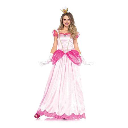 peachy lyserødt prinsesse kostume til voksne 450x450 - Prinsesse kostume til voksne