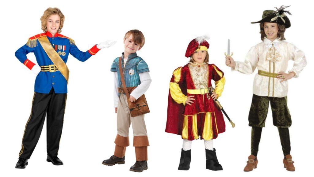 prins kostume til dreng prins udklædning disney prins kostume