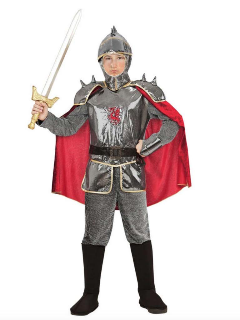 ridder børnekostume 768x1024 - Ridder kostume til børn