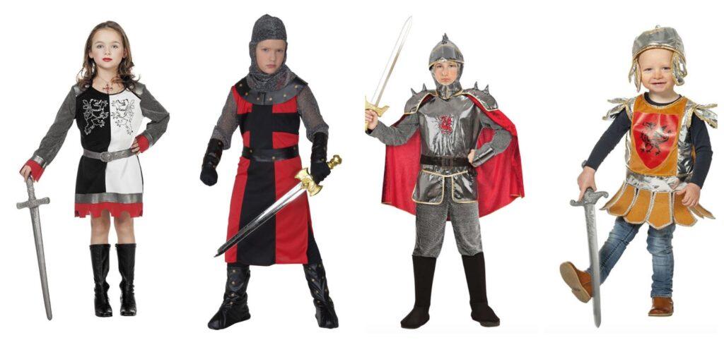 ridder kostume 1024x482 - Ridder kostume til børn