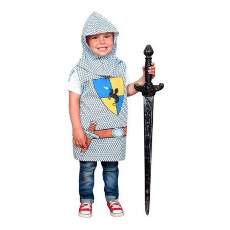 riddervest kostume til børn ridder udklædning 4 år middelalder kostume billigt