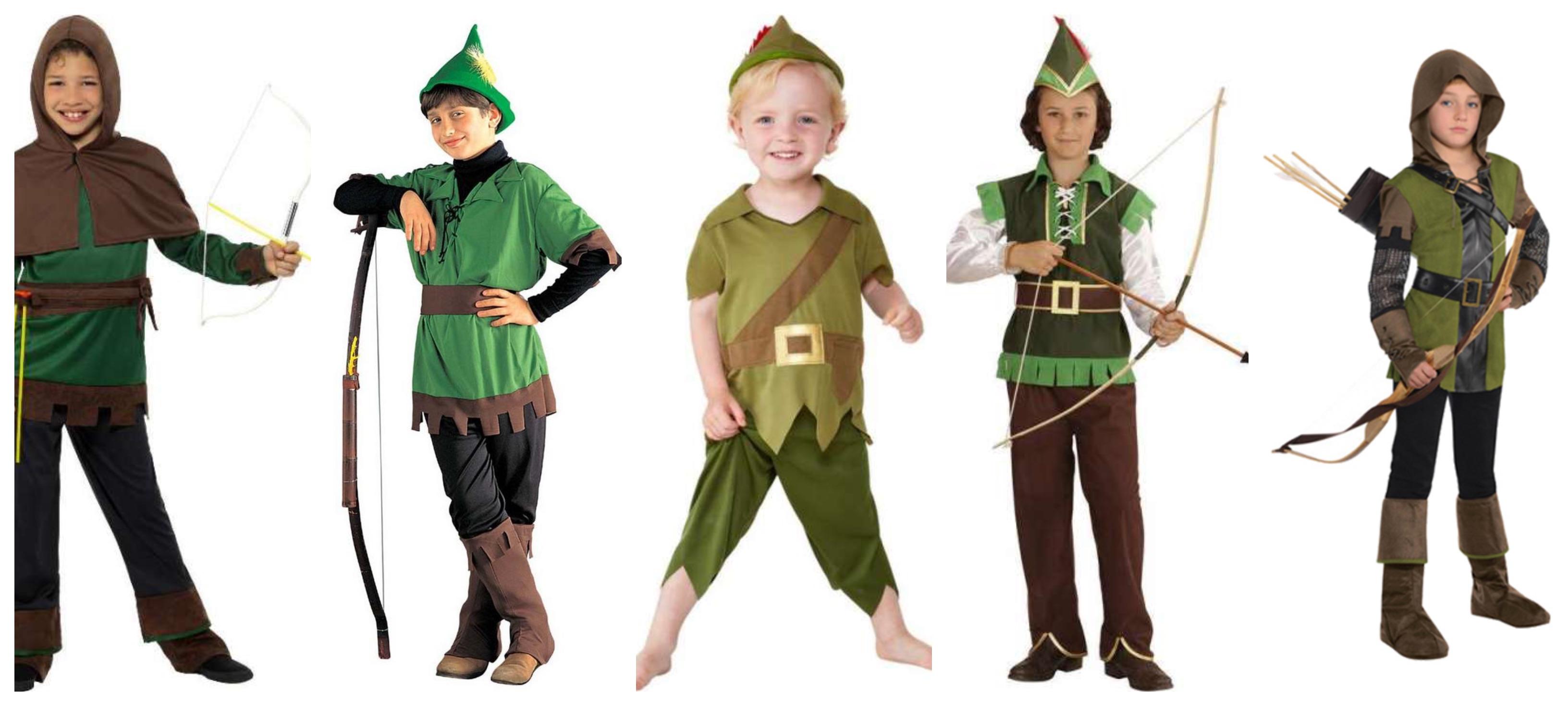 robin hood kostume 1 - Robin Hood kostume til børn og baby