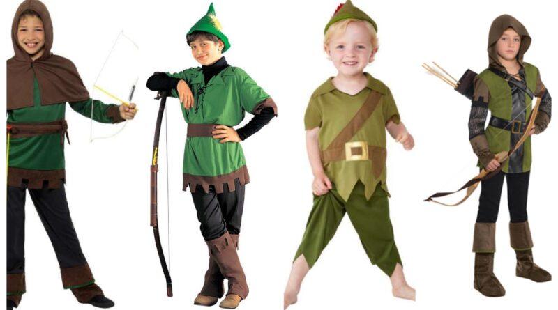 robin hood kostume til børn tilbehør bue og pil til robin hood kostume
