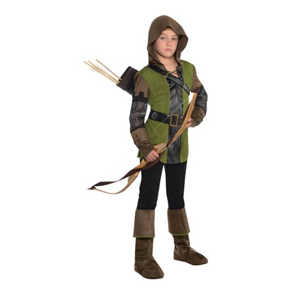 robin hood kostume til børn robin hood børnekostume robin hood forklædning barn fastelavn rollespil kostume