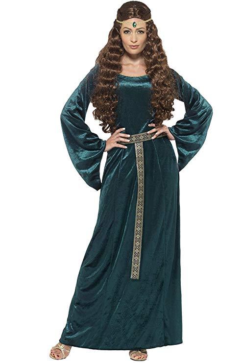 robin hood kostume til voksne grøn lady marion kostume til voksne middelalder dronning kostume til voksne rollespil kostume temafest kostume