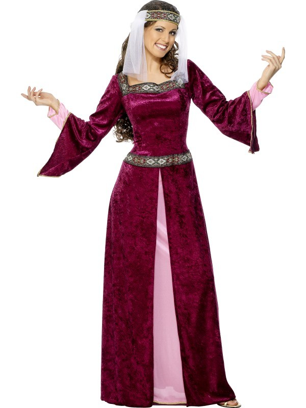 robin hood kostume til voksne lady marion kostume til voksne middelalder dronning kostume til voksne rollespil kostume temafest kostume