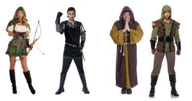 robin hood kostume til voksne munkekostume til voksne sherwood kostume broder tuck kostume sherif nottingham kostume robin hood kostume til kvinder