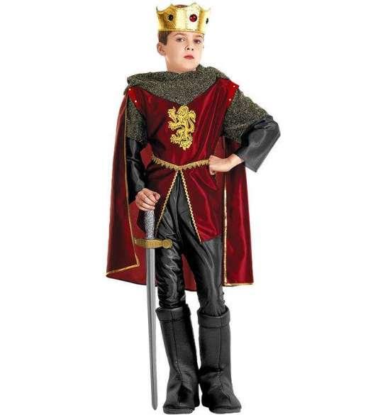 royal ridder kostume til dreng kongelig ridder udklædning ridder fastelavnskostume barn