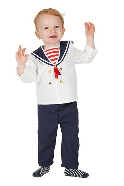 sømand kostume til bønr sømandskostume til baby sømand kostume 2 år 1 år 0 år. Fastelavnskostume til de mindste matros kostume til baby