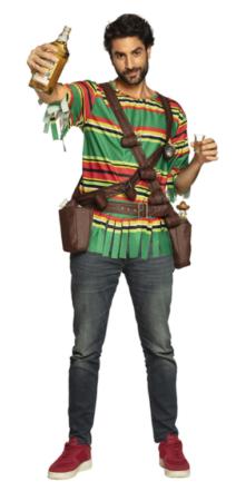 tequilla udklædning flaske kostume til mænd drikke kostume festeval udklædning