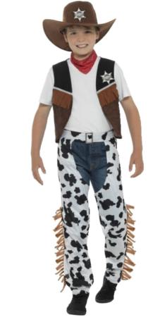 texas cowboy kostume til børn