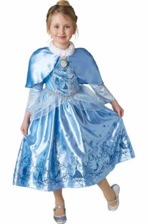 vinter askepot kostume 298x450 - Askepot kostume til børn