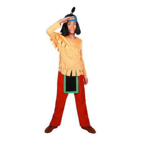 yakari børnekostume 450x450 - Indianer kostume til børn