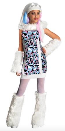 Abbey Bominable Monster High kostume 225x450 - Monster High kostume til børn