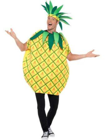 Ananas kostume gul kostume til voksne 338x450 - Frugt kostume til voksne