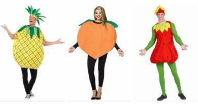frugt kostume til voksne, frugt udklædning til voksne, frugt kostumer, frugt voksenkostumer, frugt fastelavnskostumer til voksne, frugt karnevalskostume til voksne, hawaii fest kostume, sidste skoledag kostume