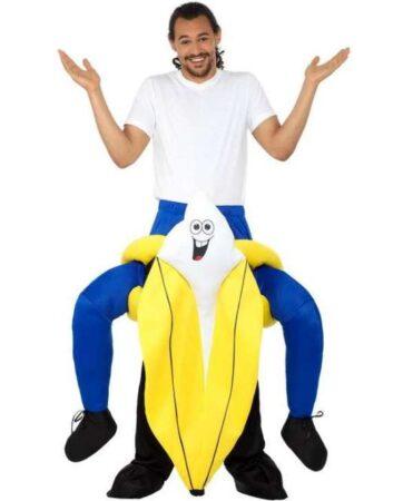 Carry me banan kostume 371x450 - Frugt kostume til voksne