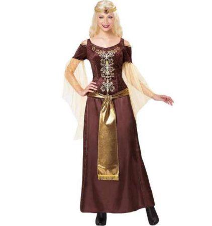 Elegant Viking Lady kostume 422x450 - Game of Thrones kostume til voksne