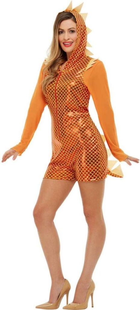 Fræk drage kostume 465x1024 - Drage kostume til voksne