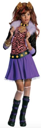 Kostume Clawdeen Wolf Monster High™ piger 145x450 - Monster High kostume til børn