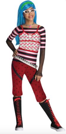 Kostume Ghoulia Yelps Monster High™ til piger 223x450 - Monster High kostume til børn