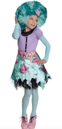 Kostume Monster High Honey™ til piger 216x450 - Monster High kostume til børn