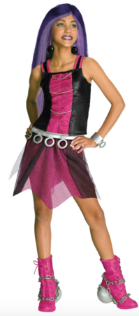 Kostume Spectra Vondergeist Monster High 199x450 - Monster High kostume til børn