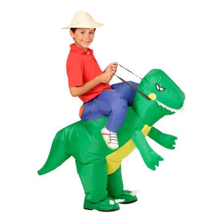 Oppustelig dinosaur kostume 450x450 - Dinosaur kostume til børn og baby