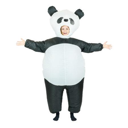 Oppustelige panda voksenkostume 450x450 - Panda kostume til voksne