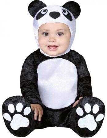 Panda baby kostume 348x450 - Panda kostume til børn og baby